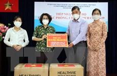 Công ty AS-TK VN trao tặng TP.HCM trang thiết bị y tế phòng chống dịch