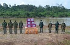 Lực lượng biên phòng Việt Nam và Campuchia phối hợp chống dịch