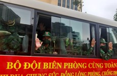 Bộ đội Biên phòng tăng cường lực lượng hỗ trợ các tỉnh miền Nam