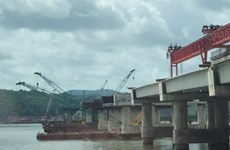 Quảng Ninh: Thấy thi thể công nhân bị ngã xuống biển khi thi công cầu