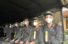 Cảnh sát Cơ động Tây Nguyên xuất quân hỗ trợ Bà Rịa-Vũng Tàu