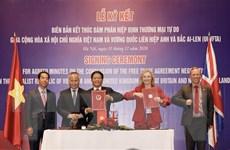 Chỉ định cơ quan đầu mối triển khai thực hiện Hiệp định UKVFTA
