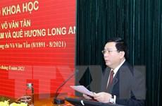 Ông Võ Văn Tần - nhà lãnh đạo tiền bối tài năng của Đảng