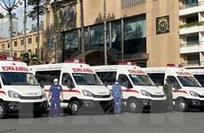 TP.HCM tiếp nhận 30 xe cứu thương và nhiều thiết bị y tế từ Thaco