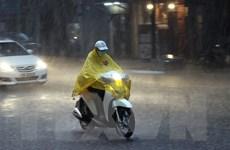 Hầu hết các khu vực đều có mưa dông, kèm thời tiết nguy hiểm