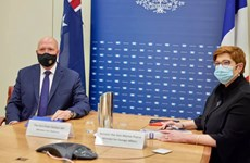 Pháp, Australia phản đối hành động làm gia tăng căng thẳng ở Biển Đông