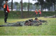 Đội tuyển quân đội các nước tiếp tục tranh tài nội dung Xạ thủ bắn tỉa