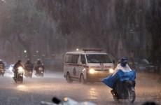 Chiều tối và đêm 5/9, các khu vực trên cả nước đều có mưa và dông