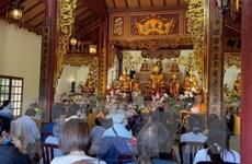Kiều bào ở Pháp dự lễ Vu Lan tại Trúc Lâm Thiền viện Paris