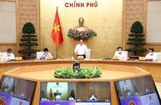 Hình ảnh Phiên họp Chính phủ thường kỳ tháng Tám