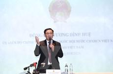 Chủ tịch Quốc hội gặp gỡ với đại diện Cộng đồng người Việt Nam