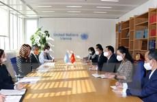Chủ tịch Quốc hội gặp Trưởng Văn phòng đại diện Liên hợp quốc tại Áo