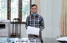 Lai Châu: Phá chuyên án mua bán ma túy lớn, thu giữ 10 bánh heroin