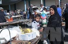 LHQ và Qatar hỗ trợ tiền mặt cho người dân Palestine ở Dải Gaza