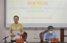 Ghi nhận 3 ca mắc mới, Hà Nam triển khai cấp bách biện pháp phòng dịch