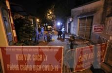 Hà Nội: Lấy mẫu xét nghiệm cho toàn bộ cư dân 3 tổ dân phố Việt Hưng