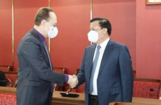 Mở rộng hơn nữa hợp tác giữa các địa phương của Nga với Hà Nội