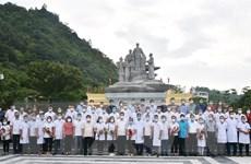 40 bác sỹ, nhân viên y tế Hà Giang lên đường hỗ trợ TP Hồ Chí Minh
