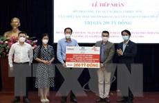 TP Hồ Chí Minh tiếp nhận hỗ trợ trị giá 200 tỷ đồng để chống dịch