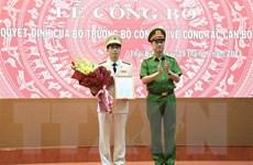 Thượng tá Trần Văn Phúc giữ chức Giám đốc Công an tỉnh Thái Bình