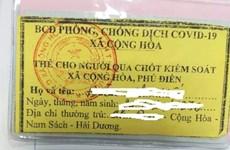 Hải Dương xử lý nghiêm cán bộ xã thu tiền xác nhận 'giấy đi đường'