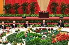 Trung Quốc tổ chức tiệc chiêu đãi mừng 72 năm ngày Quốc khánh
