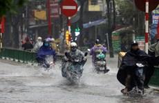 Thời tiết ngày 4/10: Thủ đô Hà Nội có mưa rào và dông vài nơi
