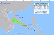 Vùng áp thấp đi vào Biển Đông, có thể mạnh lên thành áp thấp nhiệt đới