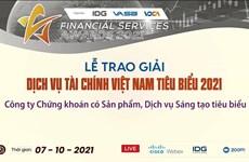 Trao giải thưởng dịch vụ tài chính tiêu biểu cho 20 doanh nghiệp