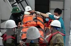 Vượt bão, cấp cứu kịp thời bệnh nhân nguy kịch trên đảo Cù Lao Chàm