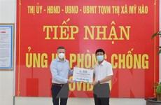 Hưng Yên: Tiếp sức dinh dưỡng chống dịch cho người dân Mỹ Hào
