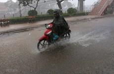 Gió mùa Đông Bắc về, kết hợp bão số 7 gây mưa to đến rất to ở Bắc Bộ