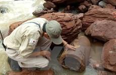 Quảng Bình: Di dời an toàn quả bom nặng hơn 3,3 tạ ở vùng biên giới