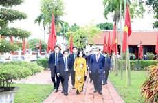 Nam Định tổ chức kỷ niệm 110 năm ngày sinh ông Lê Đức Thọ