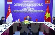 Việt Nam-Singapore đẩy mạnh hợp tác trong lĩnh vực an ninh mạng