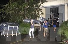 Điều tra nguyên nhân vụ cháy kho vải trong đêm ở Đồng Nai