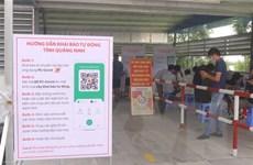 Quảng Ninh thúc đẩy ứng dụng công nghệ thông tin trong chống dịch