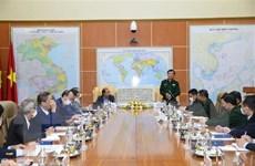 Thứ trưởng Bộ Quốc phòng tiếp các Trưởng Cơ quan đại diện ở nước ngoài