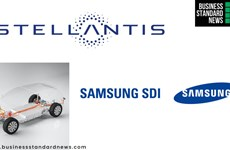 Samsung SDI bắt tay với Stellantis lập liên doanh sản xuất pin xe điện
