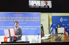 Việt Nam-Uruguay cùng thúc đẩy hợp tác kinh tế song phương