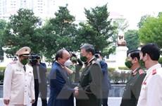 [Photo] Kỷ niệm 75 năm Ngày truyền thống Học viện An ninh nhân dân