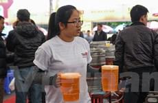 [Photo] Toàn cảnh Ngày hội bia Hà Nội 2014 tại Triển lãm Giảng Võ