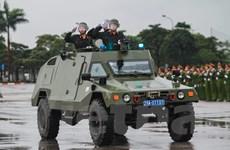 [Photo] Chiêm ngưỡng dàn siêu xe bọc thép bảo vệ IPU-132