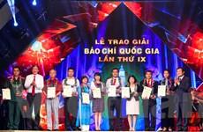 [Photo] Toàn cảnh lễ trao giải báo chí Quốc gia lần thứ 9 năm 2014
