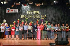 Sinh viên Báo chí hào hứng với Festival Báo chí điều tra