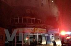 Hà Nội: Cháy chung cư cao tầng giữa đêm, hàng trăm người tháo chạy