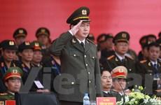 Bộ trưởng Trần Đại Quang phát lệnh xuất quân bảo vệ Đại hội Đảng