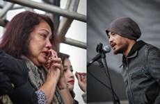 [Photo] 'Họa mi núi rừng' Siu Black bật khóc khi nghe Trần Lập hát