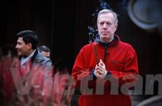 Khoảnh khắc ấn tượng của Đại sứ Mỹ trong chuyến đạp xe xuyên Việt