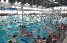 10.000 lượt bơi miễn phí, đào tạo chống đuối nước cho trẻ em Hà Nội
